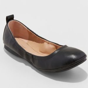 Nwt (6.5) Women's Black Ballet Flats
